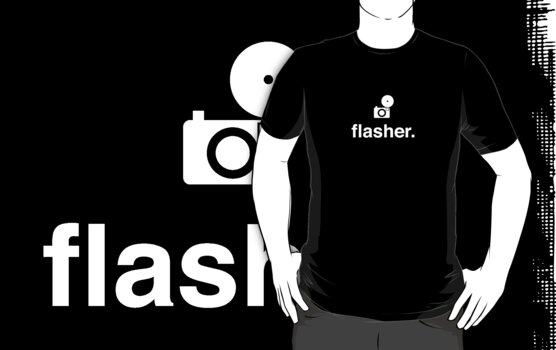 flasher. (photographer) by Reece Ward