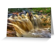 Wainwath Force - Keld 5 of 5 Greeting Card
