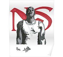 Nas - Posing Poster