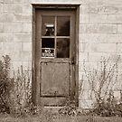 Door to the Old County Co-op by mltrue