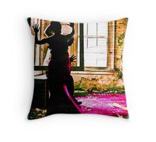 wired by touch Throw Pillow