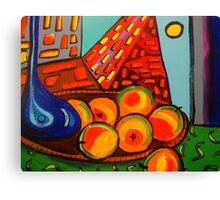 Picasso's Fruit Canvas Print