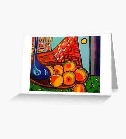 Picasso's Fruit Greeting Card