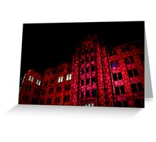 Tickled pink polkadots - Museum of Contemporary Art Greeting Card