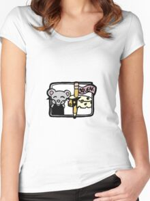 Squeak the Mouse Women's Fitted Scoop T-Shirt