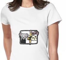 Squeak the Mouse Womens Fitted T-Shirt