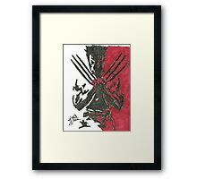 Wolverine - Movie Framed Print