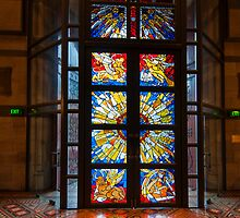 Entrance to St Paul's Melbourne by Werner Padarin