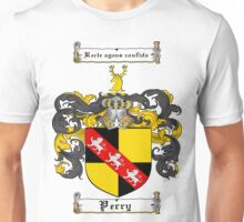 Perry Family Crest / Perry Coat of Arms T-Shirt Unisex T-Shirt