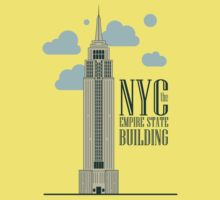 nyc, the empire state building Kids Tee