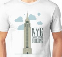nyc, the empire state building Unisex T-Shirt