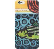 Funky Beach Green Fish iPhone Case/Skin