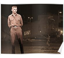 Corporal William Joyce Sewell Borie, Jr. Poster