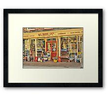 W.E. Boone & Co. Ltd. Framed Print