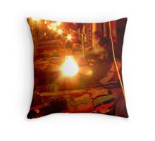 Humming Throw Pillow