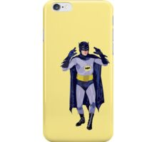 Adam West as..... The Batman! iPhone Case/Skin