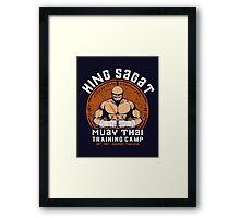 Muay Thai Camp Framed Print