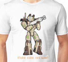 Cake not war Unisex T-Shirt