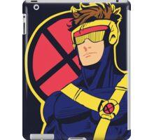 X-Men vintage Cyclops 1990s  Retro iPad Case/Skin