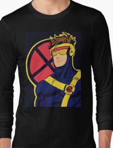 X-Men vintage Cyclops 1990s  Retro Long Sleeve T-Shirt