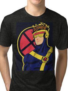 X-Men vintage Cyclops 1990s  Retro Tri-blend T-Shirt