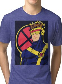 X-Men vintage Cyclops 1990s  Retro Tri-blend T-Shirt