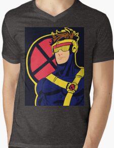X-Men vintage Cyclops 1990s  Retro Mens V-Neck T-Shirt