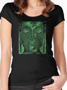 Buddha of Compassion 1 - Design 3 Women's Fitted Scoop T-Shirt