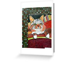 260 - MITCH - DAVE EDWARDS - MIXED MEDIA - 2009 Greeting Card