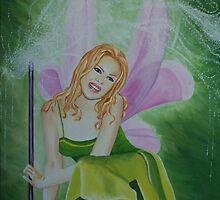 Kylie the Green Fairy by Sharyn Kimpton