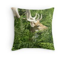 Elegant Stag Throw Pillow