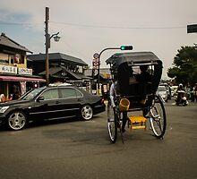 Street scene from Arayashima, Kyoto, Japan. by frommyhorizon