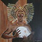 Egyptian Goddess by Anne Guimond