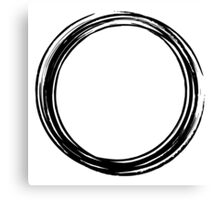 Enso circle Canvas Print