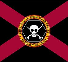 Florida Pirate Flag by PeelSurfCo