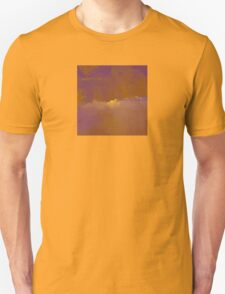 Sunset in Golden-Red and Purple T-Shirt