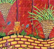263 - THE QUIET CORNER - DAVE EDWARDS - COLOURED PENCILS - 2009 by BLYTHART