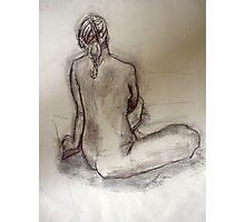 Woman's back Photographic Print