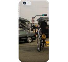 Street scene from Arayashima, Kyoto, Japan. iPhone Case/Skin