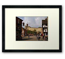 Lincoln's Castle  Framed Print