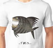 Angry Fish - toes  Unisex T-Shirt