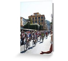 Giro de Italia Greeting Card