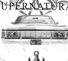 Supernatural Style Theme Sticker