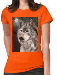 Timber Woff Womens Fitted T-Shirt