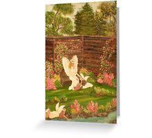Angels Garden Greeting Card