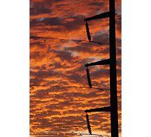 Electric Sky Photographic Print