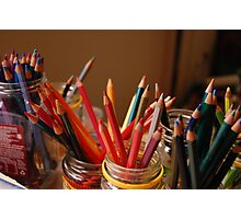 Duckies pencils Photographic Print