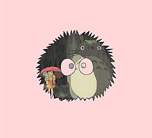 Totoro Soot by Andrew Alcock