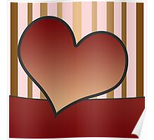 Love or Friendship Card or Background Poster