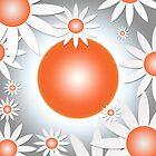 Flower Daisies Background by regidesigns